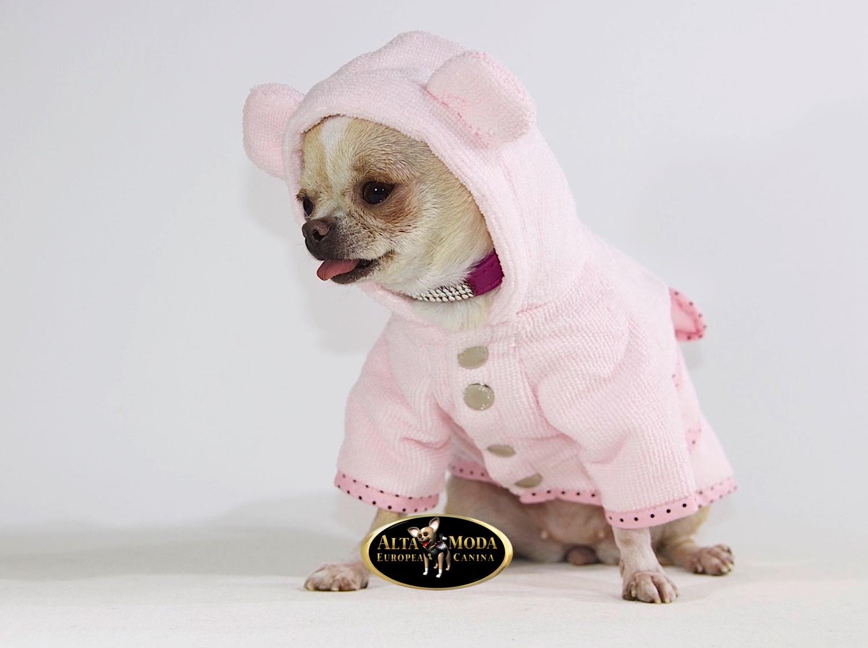 Albornoces para perros alta moda europea canina - Albornoces de bano ...