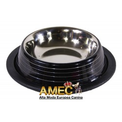 STRIPED BLACK BOWL
