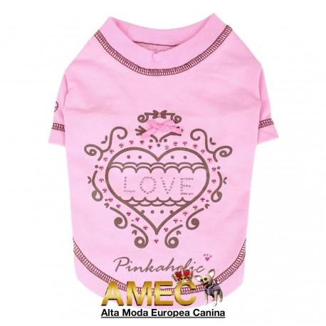 PINK T-SHIRT LOVE