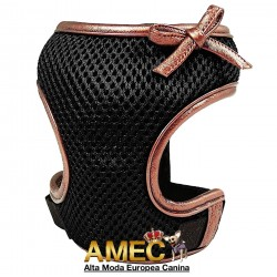 MESH DOG HARNESS BLACK