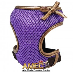 MES DOG HARNESS PURPLE