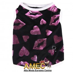 CAMISETA KISS ME LIPS