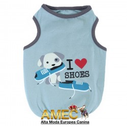 CAMISETA I LOVE SHOES