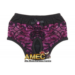 PURPLE LACE PANTIES
