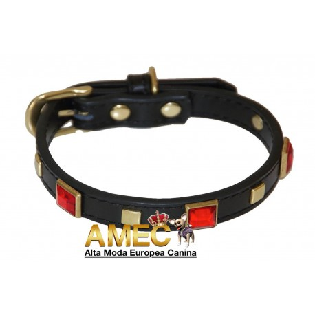 JASPE RED COLLAR