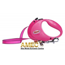 FLEXI STRAP PINK FOR DOGS