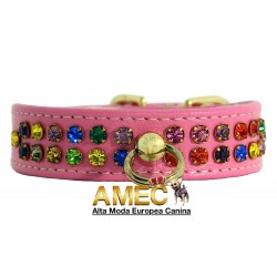 DOG COLLAR PINK PRINCESS