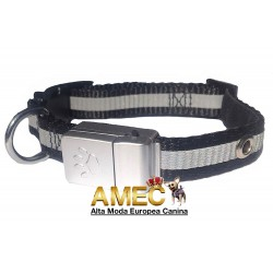 BLACK COLLAR WITH LED