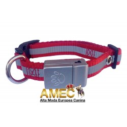 RED COLLAR WITH LED